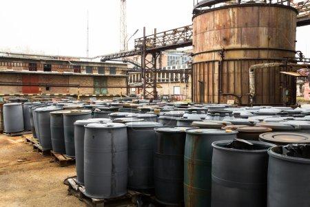Toxic barrels