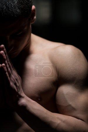 Spiritual Concentration Concept