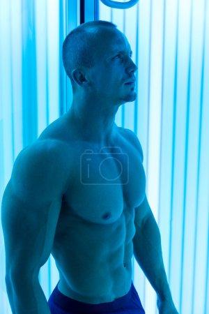 Man In Solarium