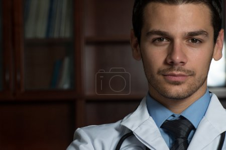 Young Caucasian Health Care Professional