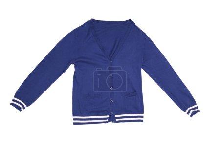 Trendy blue cardigan