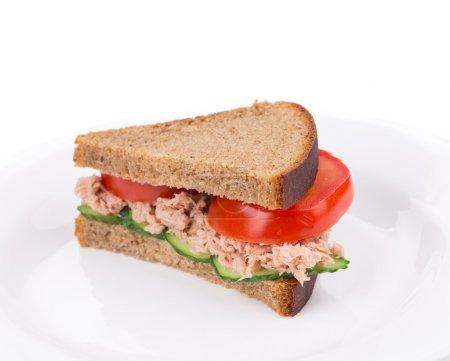 Tuna sandwich.