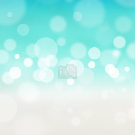 Blurred bokeh abstract nature background