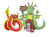 Čínský Nový rok vs. zvěrokruh rok 2012
