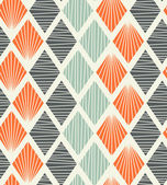 Seamless geometric pattern with rhombus Decorative abstract background