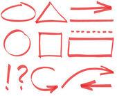 Vector simple design elements