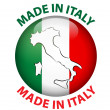 Made in Italy label...