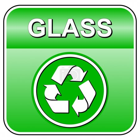 Vector glass icon