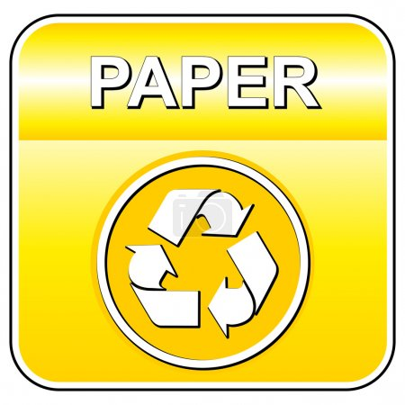 Vector paper recycle sign