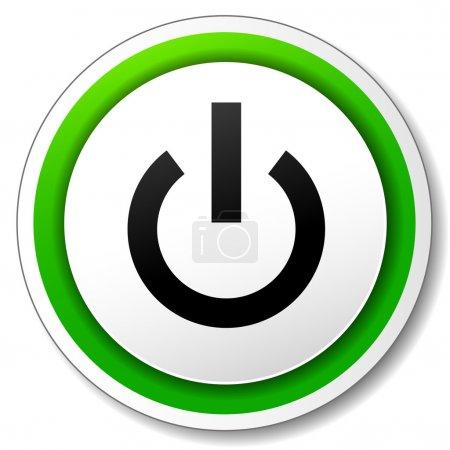 Vector start icon