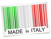 Made in italy barcode