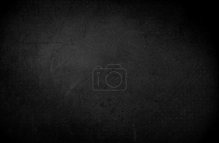 Photo for Dark grunge texture background - Black wall. Grunge table, black blackboard, abrasion wall. - Royalty Free Image