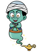Genie just came out of the lamp