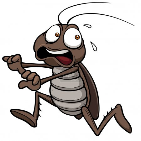 Cartoon cockroach