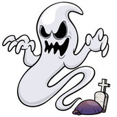 Ghost cartoon
