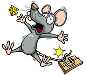 Vector illustration of A rat