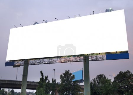 Photo for Blank outdoor billboard - Royalty Free Image