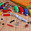 Постер, плакат: Sewing items