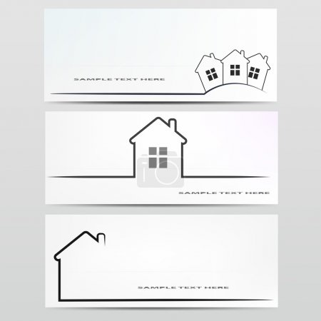 Illustration for Vector house icon. - Royalty Free Image