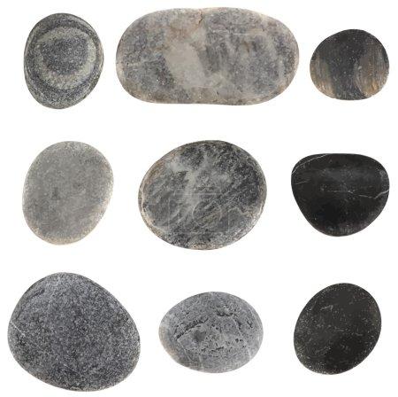 Vector stones isolated...