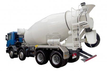 modern truck mixer