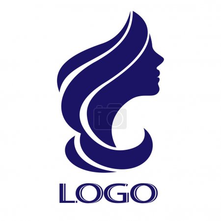 Vector girl for your logo...