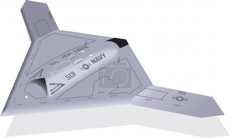X-47B Unmanned Stealth Aircraft