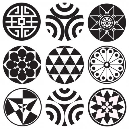 Round Design Elements