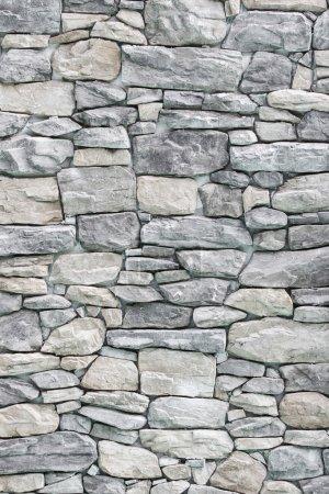 Photo pour Fond de la texture des murs de pierre - image libre de droit
