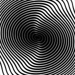 Design monochrome whirl circular motion background...