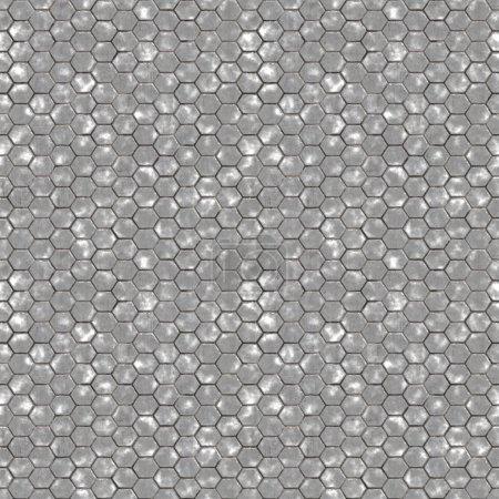 Seamless Hexagon Brick Texture