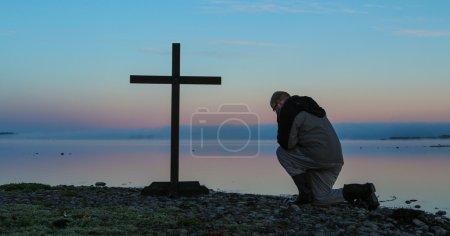 Dawn Praying Man