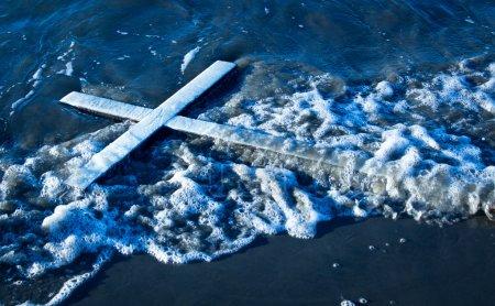 Wash Up White Cross