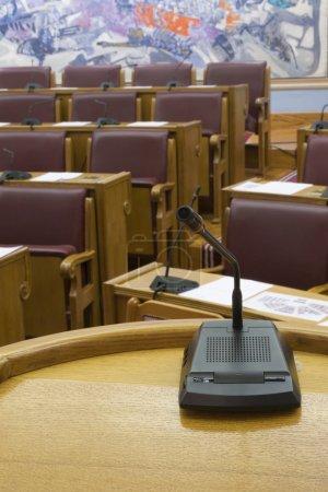 Parliament microphone