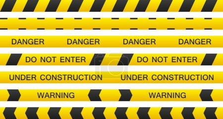 Warning Tape Set
