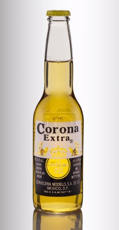 Bottle of Corona Extra Beer