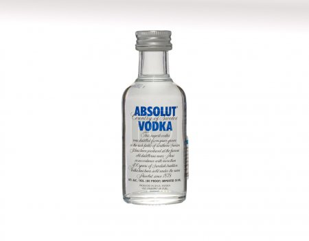 Vodka Absolut 50ml bottle