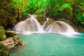 Waterfall beautiful (erawan waterfall) in kanchanaburi province