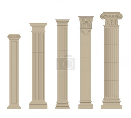 Set of column 2