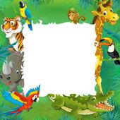 Safari del cartone animato