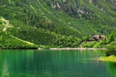 Lake in the Tatra Mountains