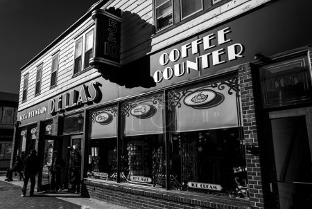 Dellas 5 & 10 Store, in downtown Cape May, New Jersey.