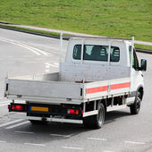 Delivery Van on the Road