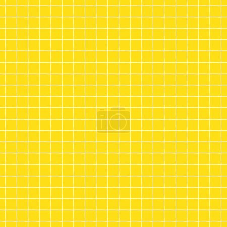 Illustration for Hand drawn geometrical seamless background. Vector illustration. - Royalty Free Image
