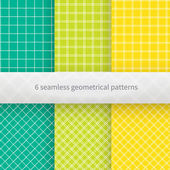 Hand drawn geometrical seamless background Vector illustration