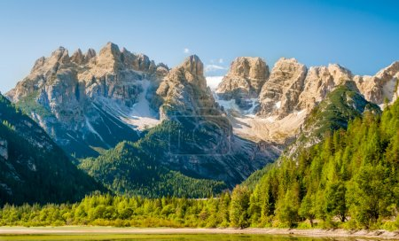 Photo for Hiking in Dolomites Mountains - Royalty Free Image