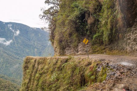 Photo pour Route de la mort à Coroico - Yungas - image libre de droit