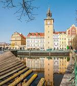 Foot bridge of Novotny and Bedrich Smetana museum