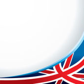 England flag background for your message or image vector illustration