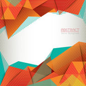Abstract Triangle Shape Background Layout